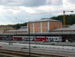 RadTramper train at Passau station