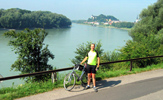Cycling the Danube cycle path